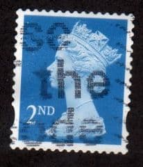 2nd 'BRIGHT BLUE (CB) (P15 X 14) FINE USED