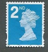 2ND  (S/A) BRIGHT BLUE (2B)  FINE USED