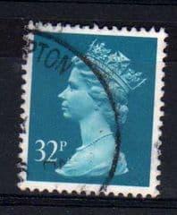 32P 'GREENISH BLUE' (PHOS).FINE USED