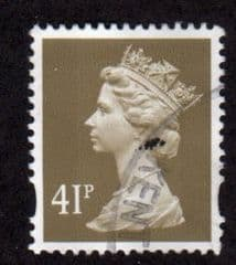 41P 'GREY BROWN' (2b) FINE USED