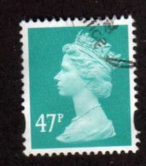 47P TURQUOISE GREEN FINE USED