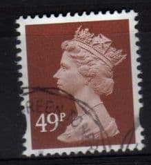 49P 'RED BROWN' FINE USED
