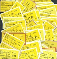 50X 'REVENUE PROTECTION '  (TO PAY) LABELS  JUST £4.00
