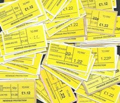 50X 'REVENUE PROTECTION '  (TO PAY) LABELS   ONLY £4.00.