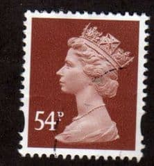 54P 'RED BROWN' FINE USED