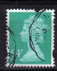 64P 'TURQUOISE GREEN'FINE USED.