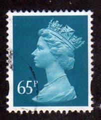 65P 'GREENISH BLUE ' FINE USED