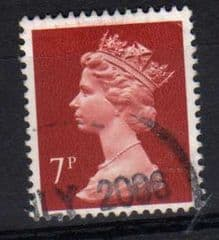 7P 'BROWNISH RED' FINE  USED