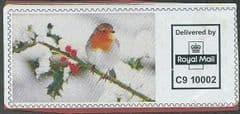 P.P.I 2009 ROYAL MAIL 'CHRISTMAS ROBIN' (REF: C9 10002)