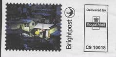 P.P.I BRIGHTPOST - HOUSES AT NIGHT '(REF: C9 10018)