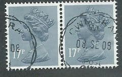 PAIR OF 17P 'GREY BLUE'  FINE USED