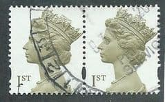PAIR OF 1ST CLASS 'OLIVE BROWN' FINE USED