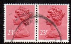 PAIR OF 23P 'BROWN RED' FINE USED