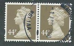 PAIR OF 44P 'GREY BROWN' (2B)  FINE USED