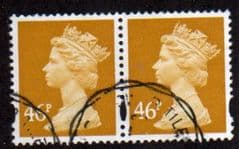 PAIR OF 46P 'YELLOW' FINE USED