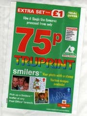 TRUPRINT ENVELOPE W/ SMILERS ADVERTISEMENTS.