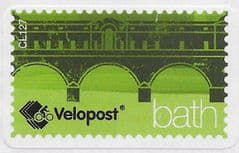 VELOPOST (S/A) 'BATH' (C127) LABEL ON PIECE