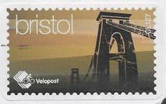 VELOPOST (S/A) 'BRISTOL' (C127) LABEL ON PIECE
