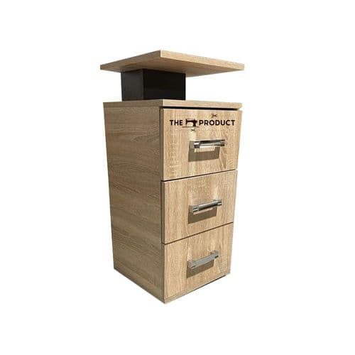 Classic Bedside Table Storage Drawers