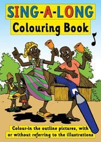 S-29 Sing-A-Long Colouring Book (size A4, 52 pages, for individuals)
