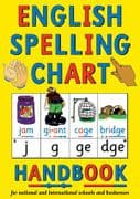 S-76 English Spelling Chart Handbook (size A5, 8-pages, for older Individuals)