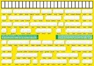 S-92 English Phonics Check A4 (Two-sided, deskchart)