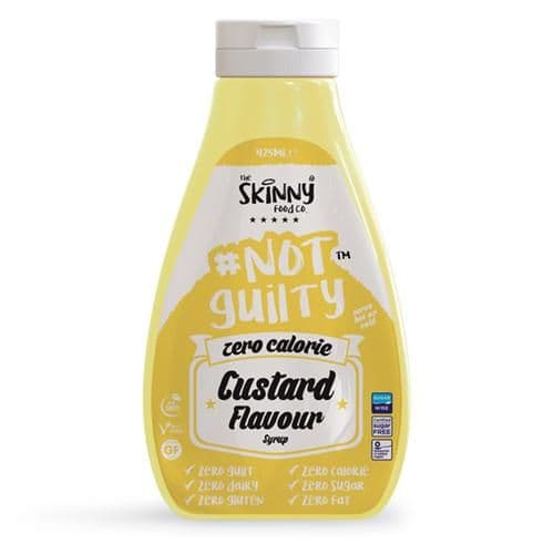 Custard Zero Calorie Sugar Free Skinny Syrup -  425ml
