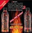 MAXI BURN®  DRINK  12x500ML CALIFORNIA ORANGE