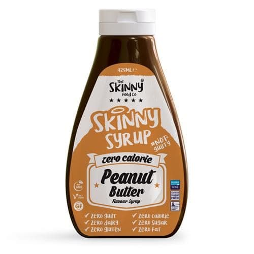 Peanut Butter Zero Calorie Sugar Free Syrup - 425ml