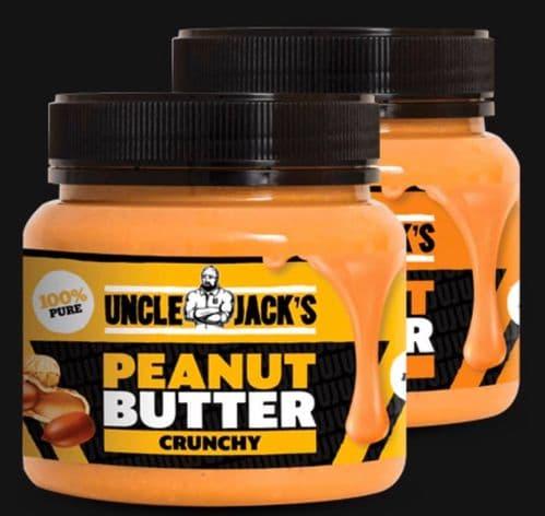 Uncle Jack's  Peanut Butter - 1kg