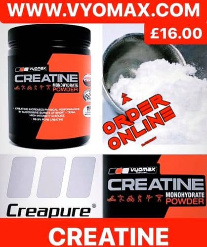 VYOMAX® CREATINE MONOHYDRATE POWDER 500G