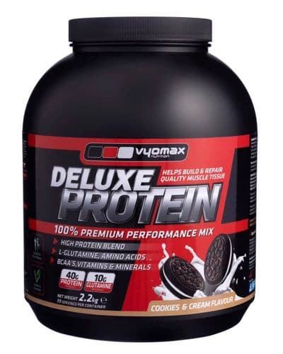 VYOMAX® DELUXE PROTEIN POWDER  2.2KG COOKIES AND CREAM