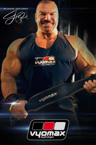 Vyomax Leather Padded Belt | Vyomax Nutrition