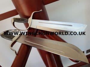 Butterfly Swords - Silver Chopper