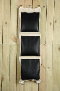Standard 3 Section Wall Bag - Leather