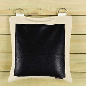 Standard Single Section Wall Bag - Leather